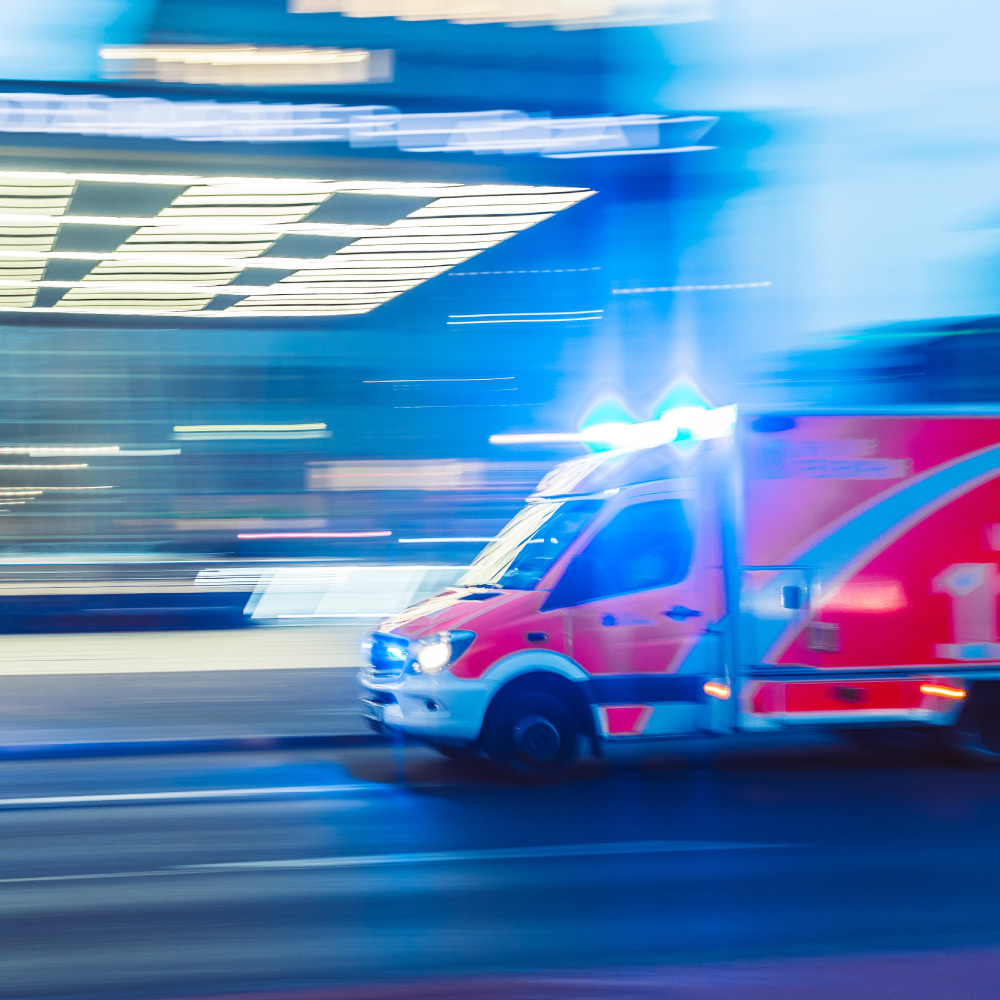 events & security tracking of emergency vehicles