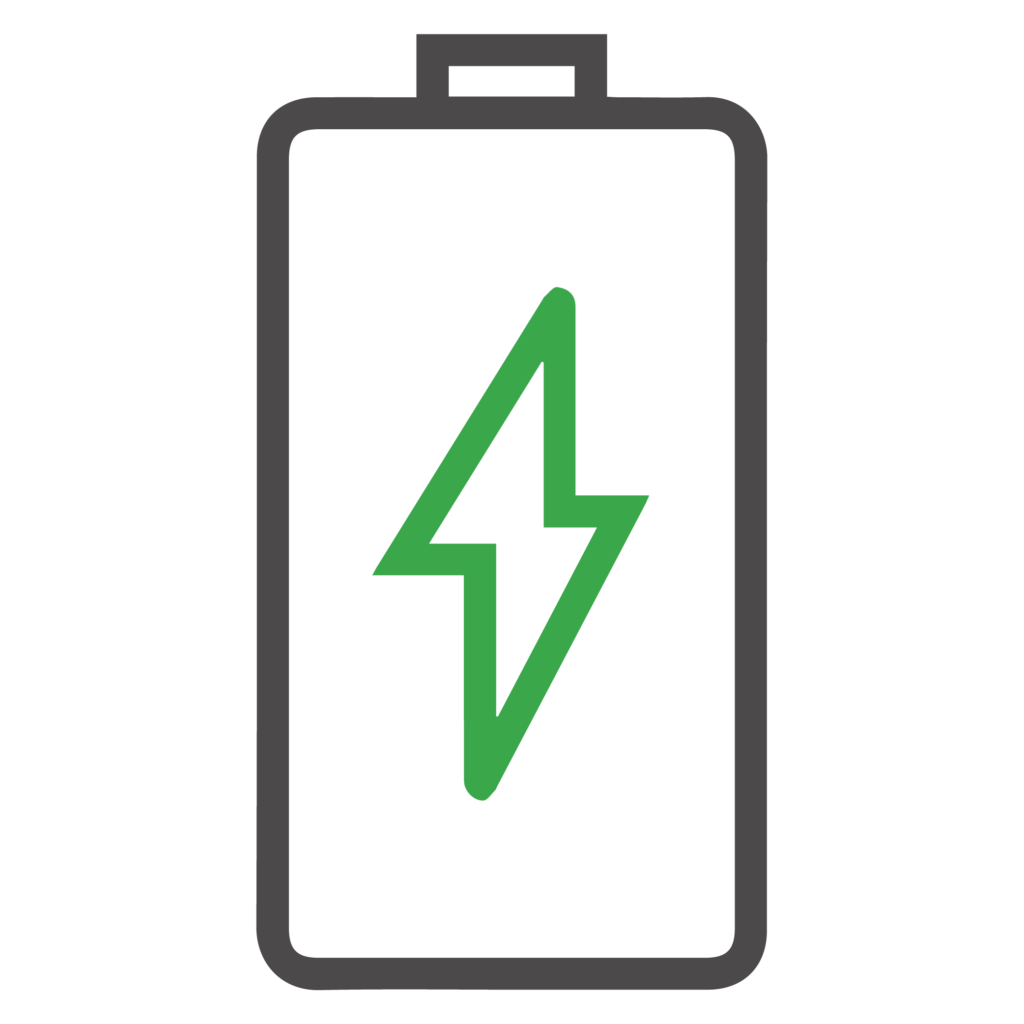 wireless battery icon
