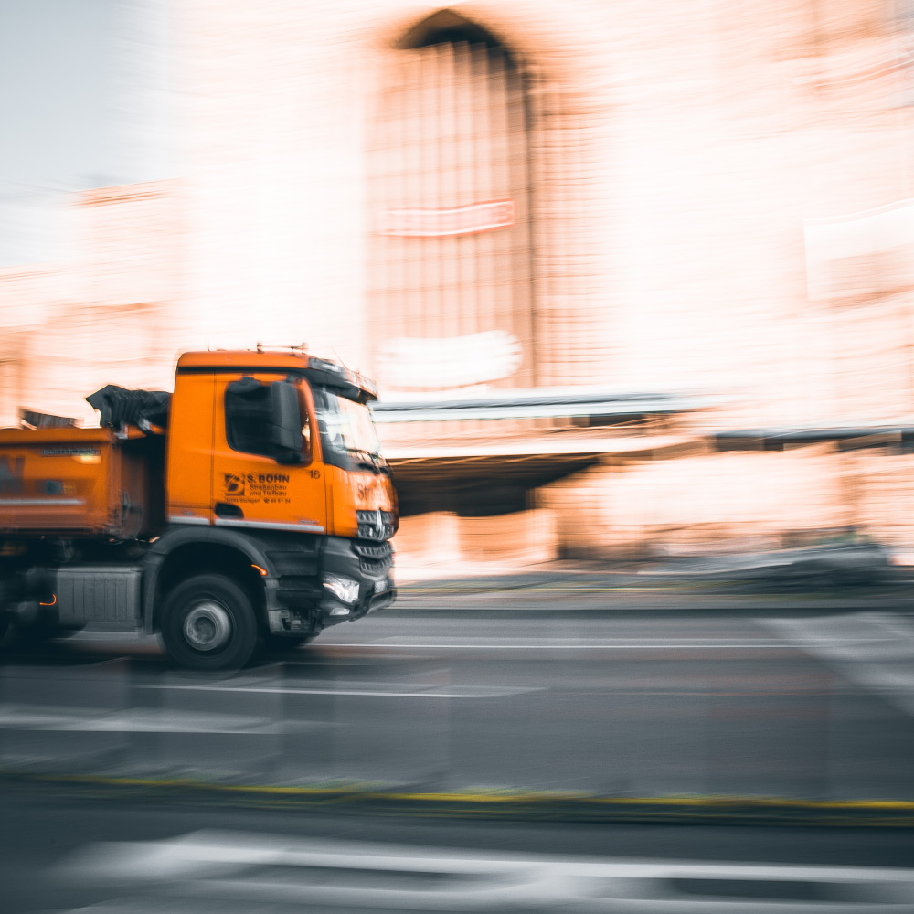truck driving tracking